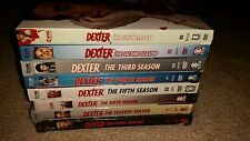 Dexter: Complete Series -Seasons (1,2,3 USED) & (4,5,6,7,8 Brand New SEALED) DVD