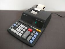 Sharp Calculator 12 Digit 2 Color Printer EL-2196BL Fully Tested w/ paper rolls