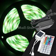 RGB 5050 SMD 5M Waterproof 150 LED Strip Light + 44 Key IR + DC 12V 5A Power