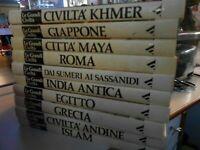 LIBRO: LIBRO LE GRANDI CIVILTA' - A. MONDADORI -dieci volumi, grandi dimensioni