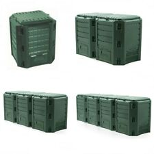 Komposter Kompostbehälter Gartenkomposter Thermokomposter Modul grün 380-1600