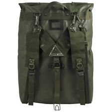 CZECH ARMY Original MILITARY M85 BACKPACK RUBBERIZED SURPLUS GREEN POUCH BAG