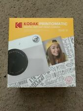 Kodak PRINTOMATIC Digital Instant Print Camera (Grey) Color/B&W Prints BRAND NEW