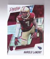 2018 Prestige HAROLD LANDRY Rookie Card Xtra Points Purple SP Titans