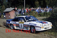 Henri Toivonen Rothmans Opel Manta 400 1000 Lakes Rally 1983 Photograph