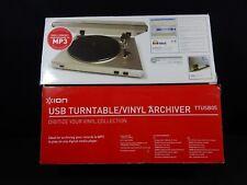 ION USB TURNTABLE / VINYL ARCHIVER WITH LINE INPUT - TTUSB05XL MEDIA CONVERTER