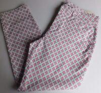 NWT GAP Women's Khaki Pants Slim City White/Pink/Blue 0 2 4 6 8 14 16 MSRP$50