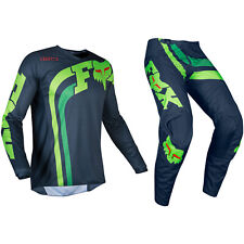 Fox Racing 180 Motocross MX Kit Pantaloni Maglia - Cota Navy