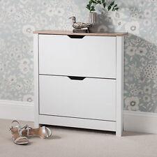 Laura James Shoe Cabinet Cupboard 2 Tier