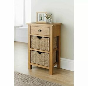 Wiltshire Oak Small Console Table, Brand New. Shipped Next Day For Free!