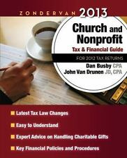 Zondervan 2013 Church and Nonprofit Tax and Financial Guide: For 2012 Tax