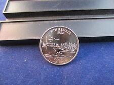 2005-P Minnesota Clad Quarter Mint State Unc-BU Satin Finish Upper Grading Range