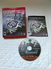 Saints Row: The Third (Sony PlayStation 3, 2011) PS3 Complete.