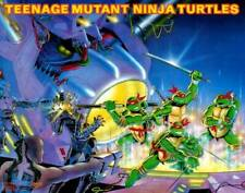 Teenage Mutant Ninja Turtles 1988 TMNT POSTER Rare Large
