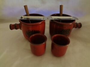 2 Stück Traumfeuer Feuerzangenbowle Pott 8-teilig komplett 2 Personen Keramik