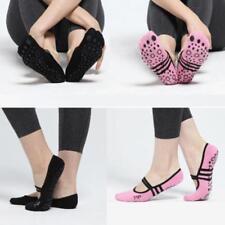 1Pair Pilates Anti-slip Women Ballet Grip Yoga Sock Massage Ankle Gym Socks ss