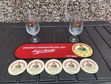 More details for superb genuine  birra moretti bar set
