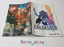 Sony Playstation PS2 - Final Fantasy XII 12 - Notice / Instruction Manual