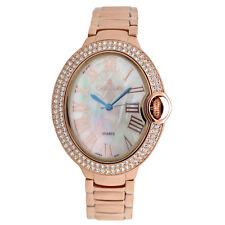 Croton Women's CN207566RGMP Quartz Dial Rose Gold-Tone Bracelet 36mm Watch