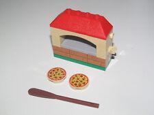 Lego ® Accessoire City Four Double a Pizza Pizzeria + Accessoires NEW