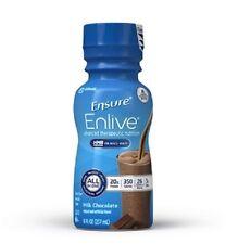 Ensure Enlive Nutritional Shake Chocolate 8 oz Bottle, Abbott 64283 - Case of 24