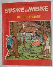 Suske en Wiske RODE REEKS DE DULLE GRIET Nr 66 EERSTE DRUK   1966