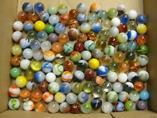 Mixed Lot of 130 Vintage Toy Glass Marbles