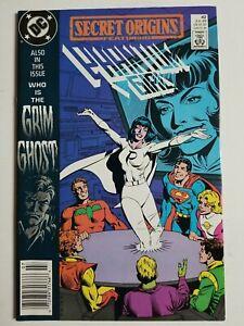Secret Origins (1986) #42 - Very Fine/Near Mint - Phantom Girl, Newsstand