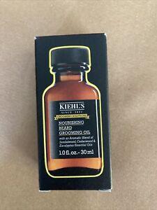 Kiehl's Nourishing Beard Oil 30ml Brand New