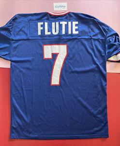 Vtg NEW WITH TAGS Buffalo Bills Doug Flutie 1990's Champion Jersey Mens XL NOS