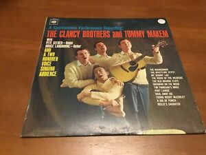 The Clancy Brothers & Tomy Makem (With Pete Seeger_ - Vinyl Record LP
