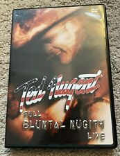 TED NUGENT - FULL BLUNTAL NUGITY LIVE (2 DVD, 2003) EX. COND.