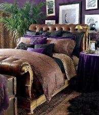Ralph Lauren ◈New Bohemian Aragon ◈ Queen Flat Sheet ◈ Leopard ◈ New Sealed VHTF