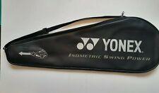 "Yonex Racquet Bag case cover zipper & strap Great Condition! Bag Only 27"" × 9"""