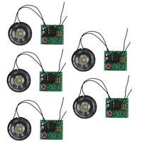 5x DIY Kits Electronic Doorbell NE555 Electronic Transformer Sound Circuit Board