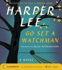 GO SET A WATCHMAN unabridged audio book on CD by HARPER LEE - Brand New!