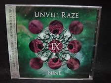 UNVEIL RAZE Nine JAPAN CD Loudness Japanese Progressive Power Metal !