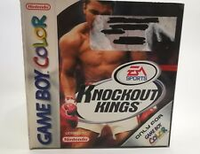 KNOCKOUT KINGS GAMEBOY ADVANCE GBA COMPLETO ORIGINAL JUEGO TESTADO AÑO 1999