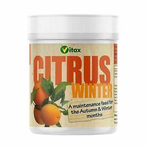 Vitax Citrus Tree Food Winter Feed Plant Fertiliser Soil Fruit Orange Lemon 200g