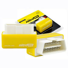 NitroOBD2 Nitro Plug & Drive Performance Horsepower Torque Chip Tuning Box Cars