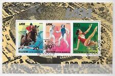 SPORTS GYMNASTICS HORSES Thematic Topical Mixture Sheet Stamps LOT No.20031017