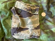 RARE Vietnam era ARVN Tiger camo pocket
