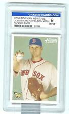 2006 GRADED Bowman Heritage Jonathan Papelbon RC MT SP