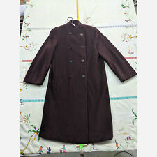 Women's Size 6 MaxMara Long Wool Trenchcoat - Luxury Jacket