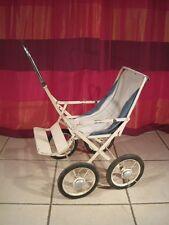 Ancien Jouet Poussette Pliable Poupée Baigneur métal Vintage Années 50 stroller