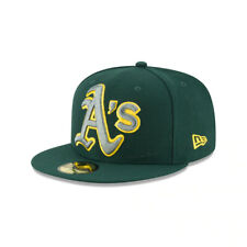 Oakland Athletics MLB Authentic New Era Squad Twist 59FIFTY Fitted Hat - Green