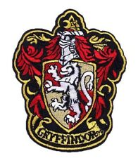 "Harry Potter Patch GRYFFINDOR Embroidered Iron On Applique Apx 3.98"" X 3.15"""
