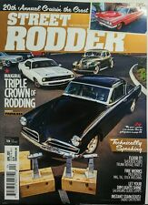 Street Rodder April 2017 Inaugural Triple Crown of Rodding Cars FREE SHIPPING sb