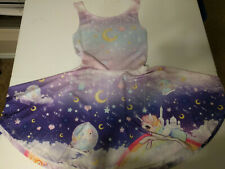 Galaxy Unicorn Skater Dress - Chibi Bunny brand size S