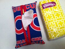 MLB Chicago Cubs Travel Tissue Cover Handmade